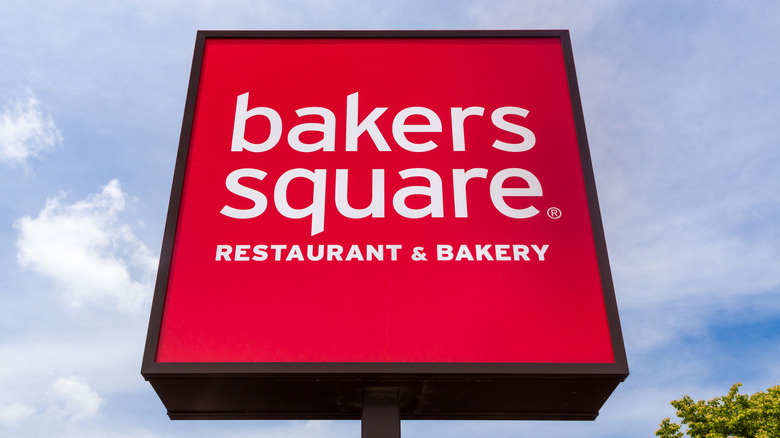 Bakers Square restaurant sign