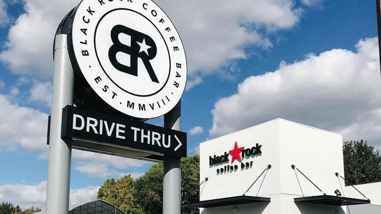 Black Rock Coffee Bar sign