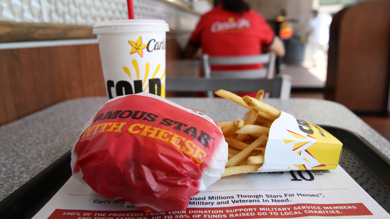 A generic image of food from Carl's Jr.