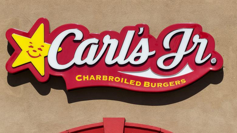 Carl's Jr. sign