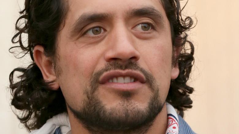 Closeup of Eduardo Garcia
