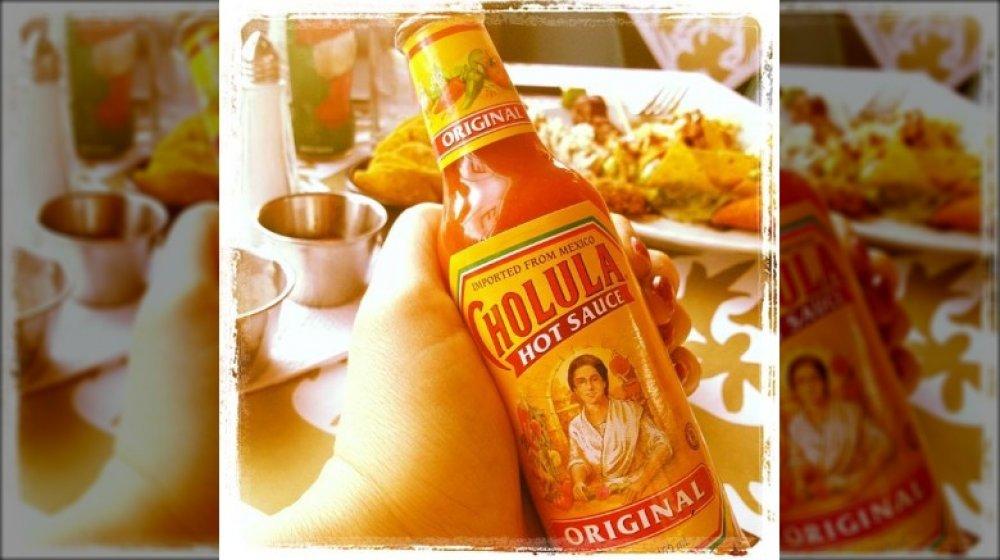 Cholula bottle