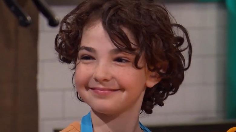 Chopped Junior contestant smiling