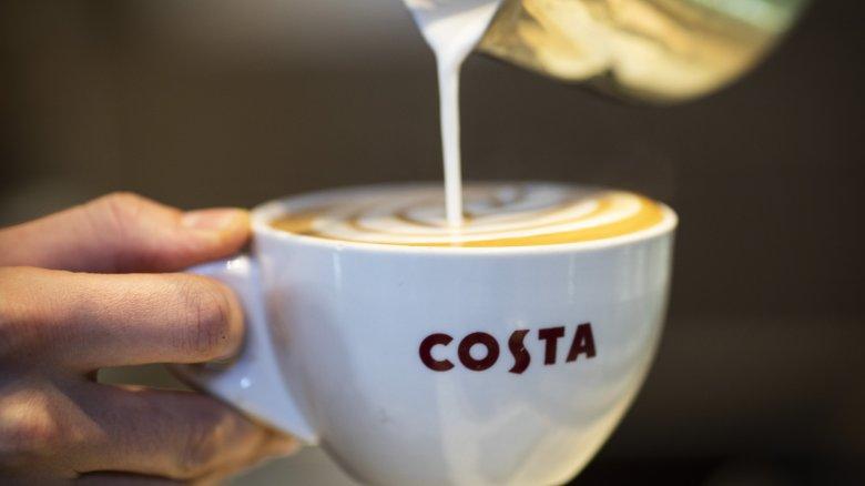 Costa Coffee barista