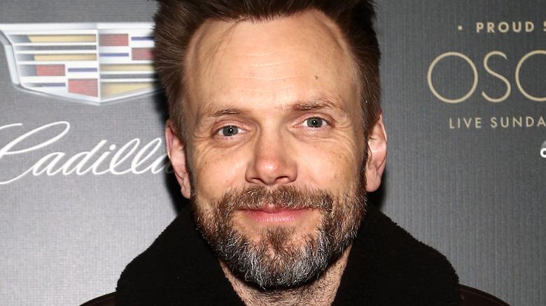 Joel McHale with beard