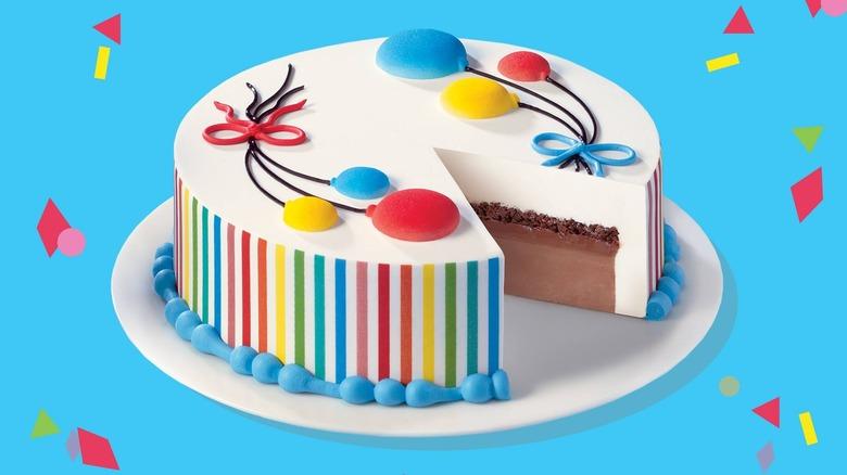 DQ Ice cream cake