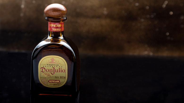 Bottle of Don Julio tequila