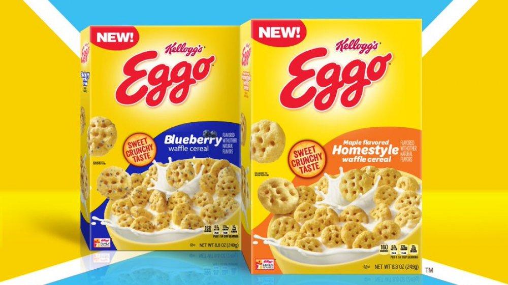 Kellogg's Eggo Waffle Cereal