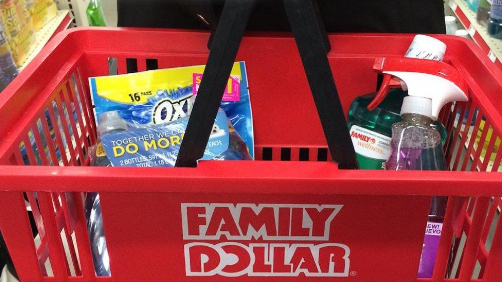 Family Dollar basket