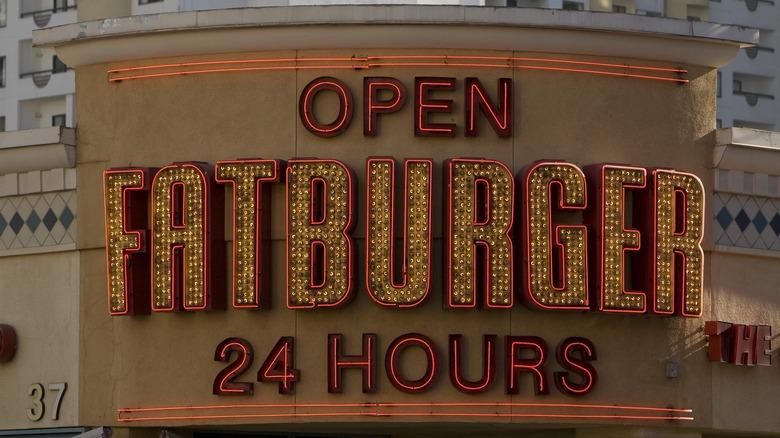 Fatburger Las Vegas sign