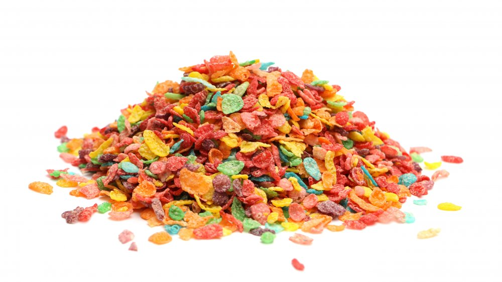 A pile of Fruity Pebbles