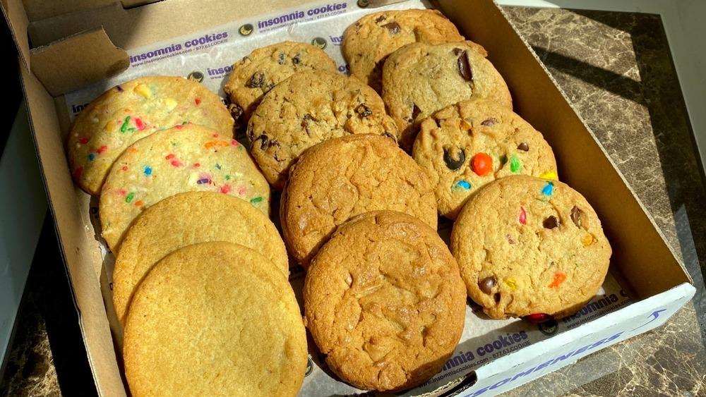 scrumptious Insomnia cookie flavors