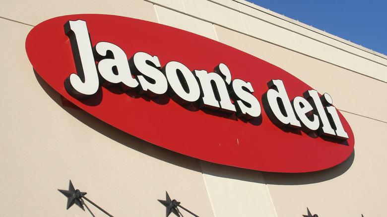 Jason's Deli outside sign