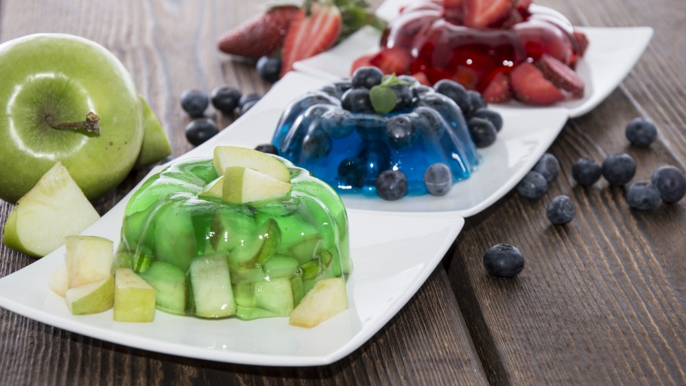 Jell-O fruit salad