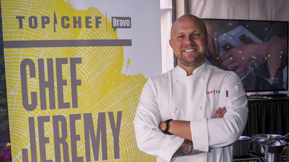 Chef Jeremy Ford smiling