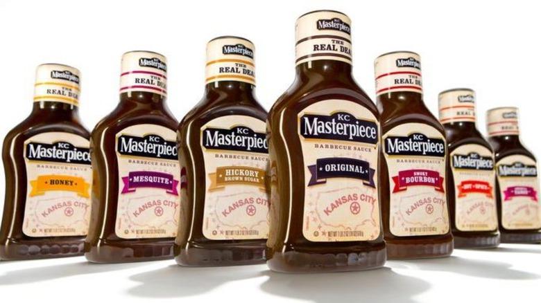 varieties of KC Masterpiece sauce