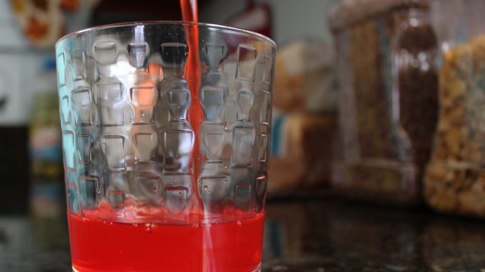 Kool-Aid being poured in a glass