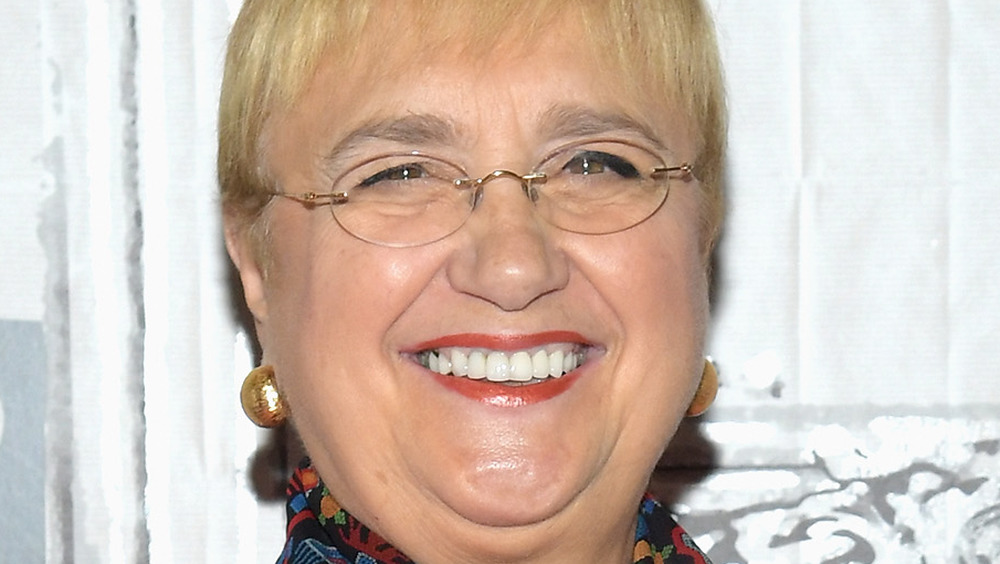 Lidia Bastianich smiling at cameras
