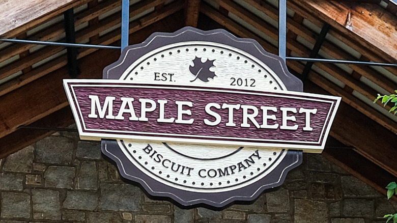 Maple Street Biscuit Company storefront
