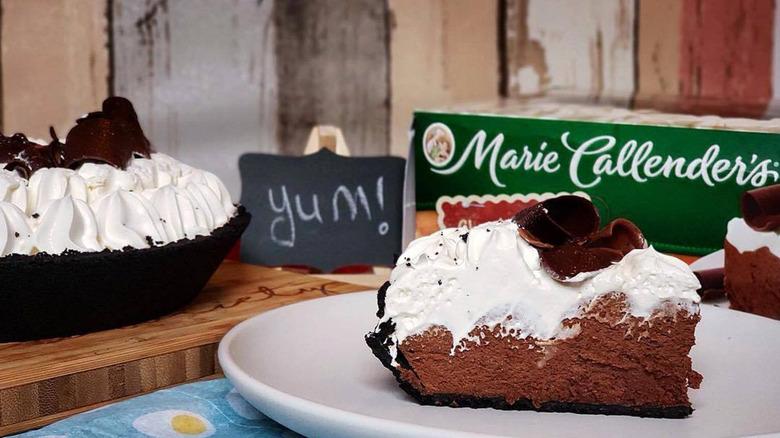 Marie Callender's chocolate pies