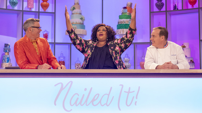 Nicole Byer and Jacques Torres