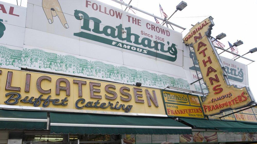 nathan's famous original restaurant