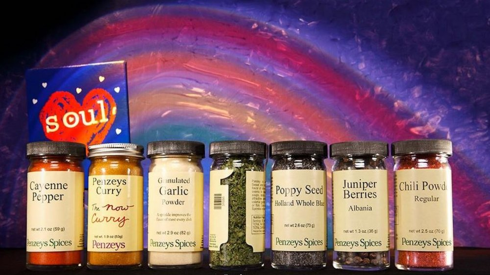 Jars of Penzeys Spices