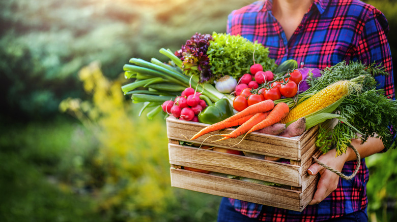 Fresh produce like from Seasons 52