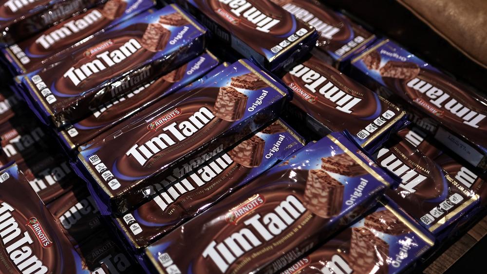 Arnott's Tim Tams on display
