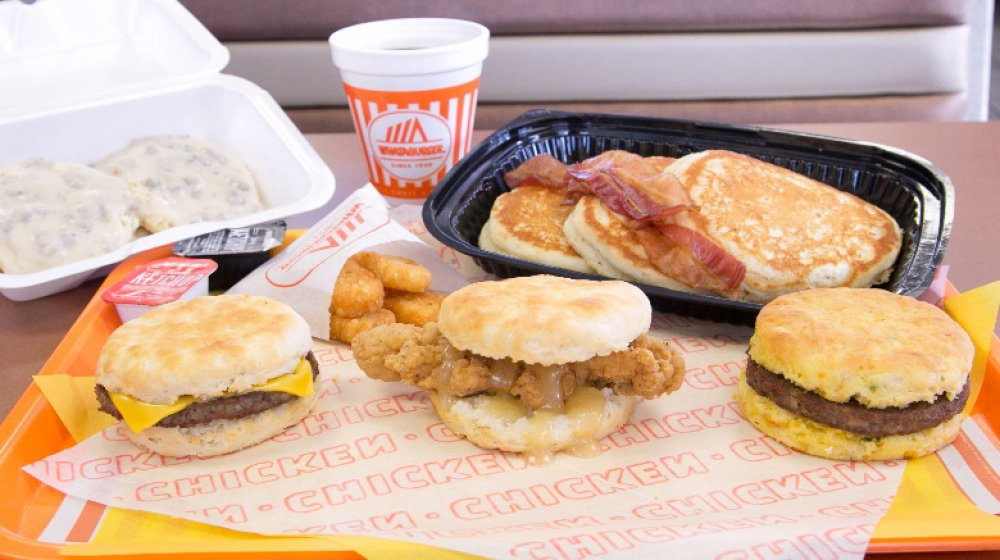 Whataburger breakfast