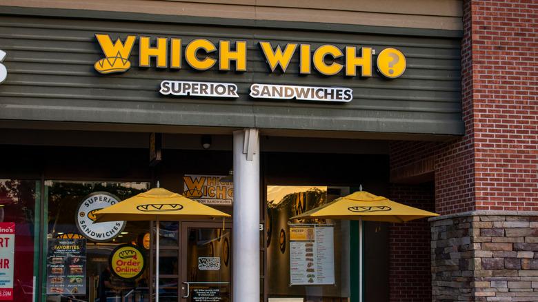 Which wich restaurant exterior