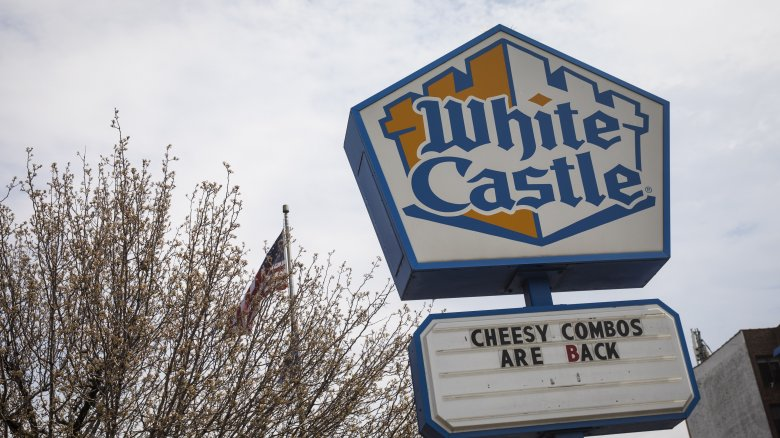 white castle sign
