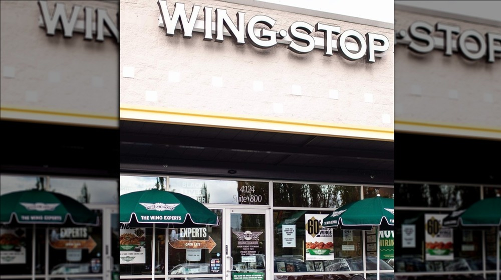 A generic photo of a Wingstop outlet