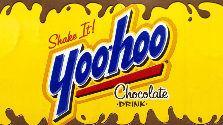 A box of Yoo-Hoo