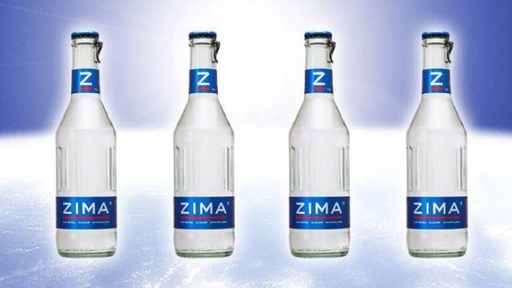 Bottles of Zima