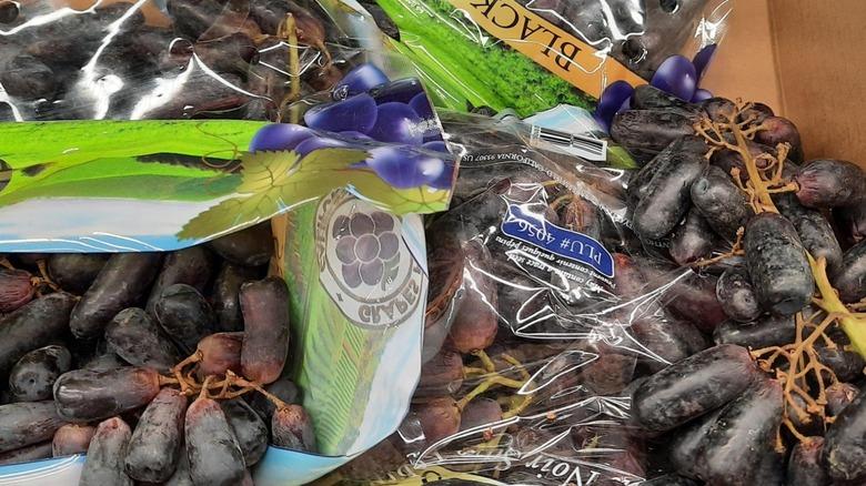 Aldi's new grapes