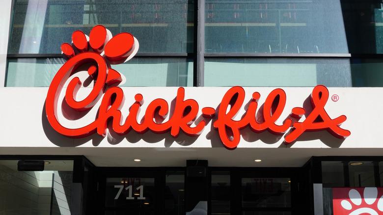 Chick Fil-A storefront