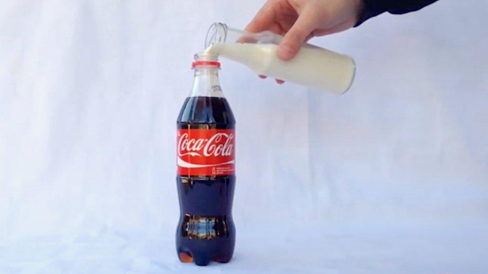Milk and Coke
