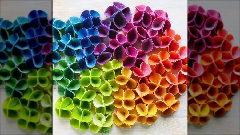 The colorful new pasta design