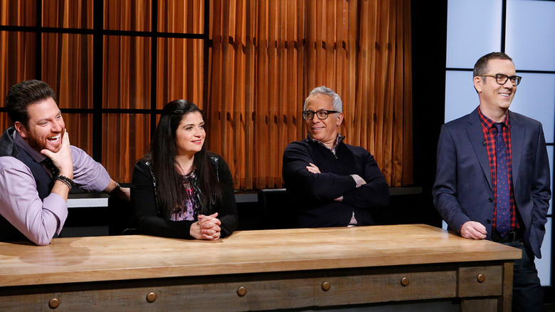 Chopped judges with Ted Allen