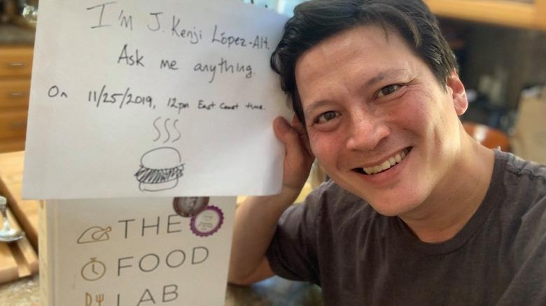 J. Kenji Lopez-Alt with book