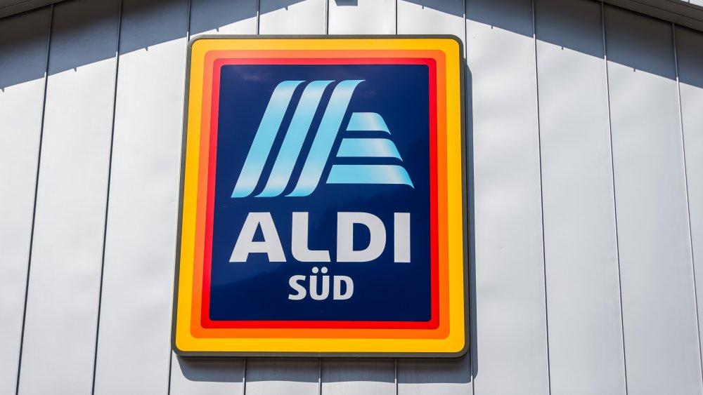 German Aldi sign