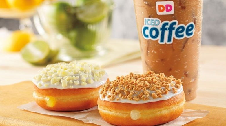 fruit donuts from Dunkin'