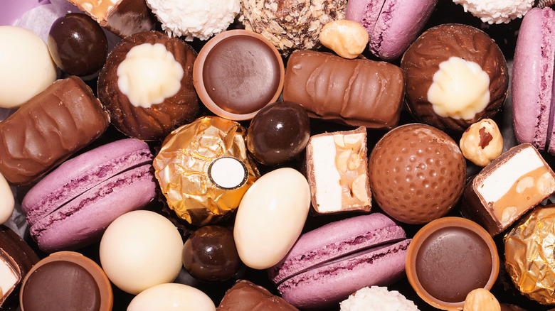 Chocolate and candy assortment