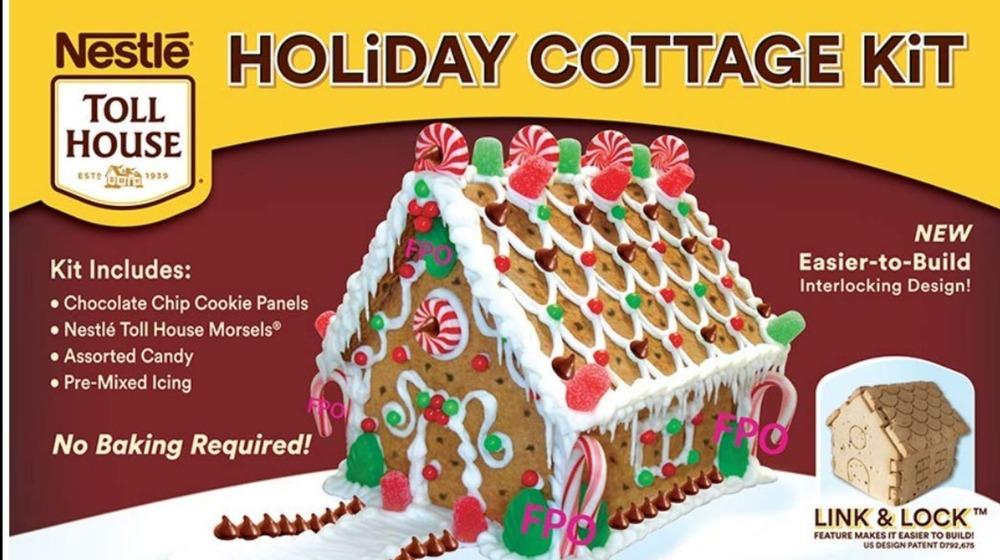 Nestle cookie house kit