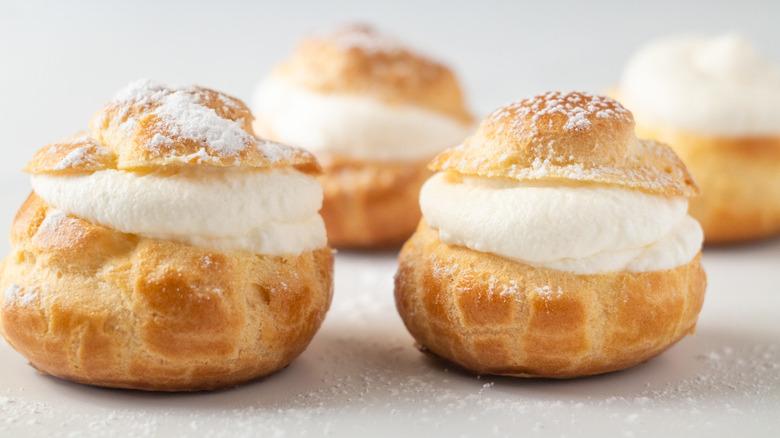 cream puffs served