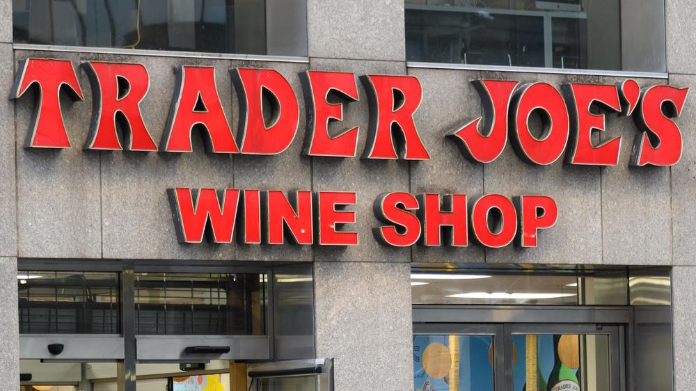 Trader Joe's wine shop exterior