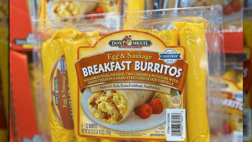 Don Miguel six-pack burritos