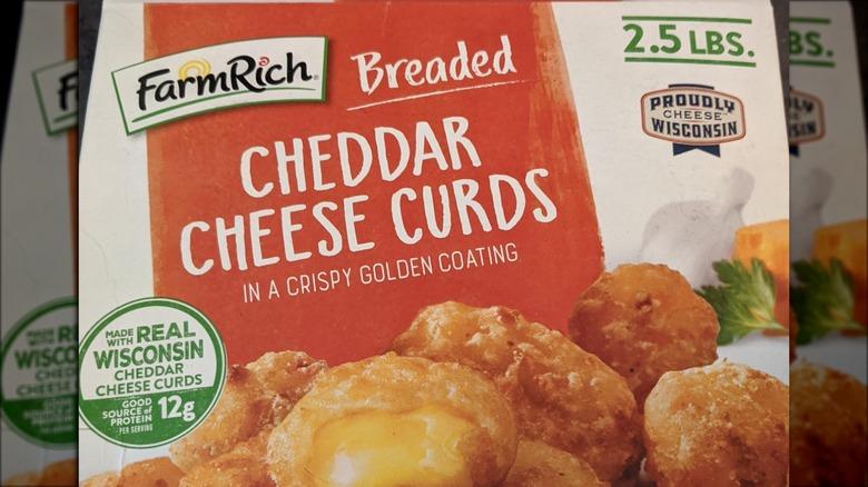 Farm Rich Breaded Cheddar Cheese Curds