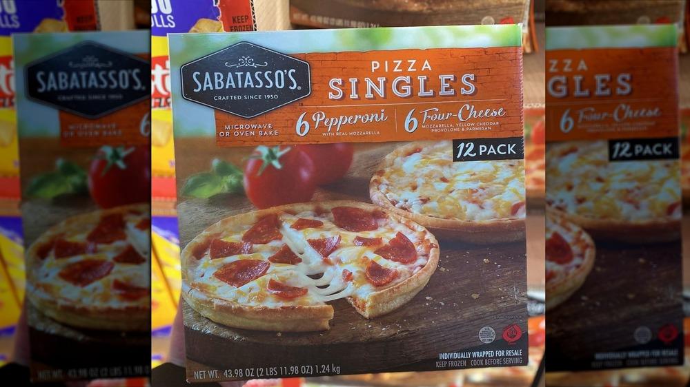 Sabatasso's frozen pizza singles